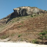 Pedra da Tartaruga vista da praia do perigoso
