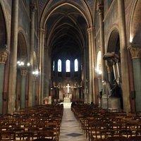 サンジェルマン教会の内部