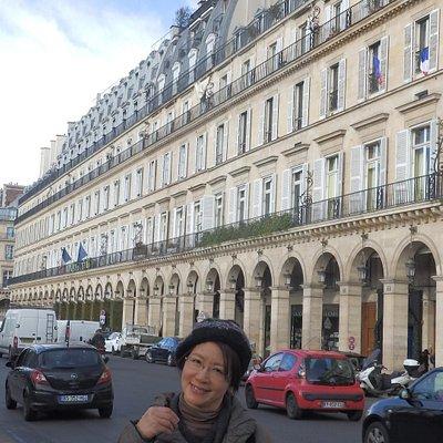リヴォリ通りに沿って建つ建築物の様式美
