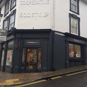 Corner of Brownston Street