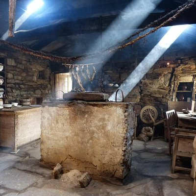 The firehoose with it's open central hearth