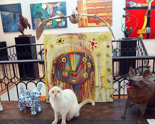 Gallery mascots