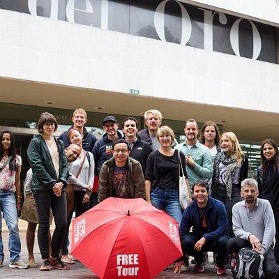 The best walking tour of Bogota!