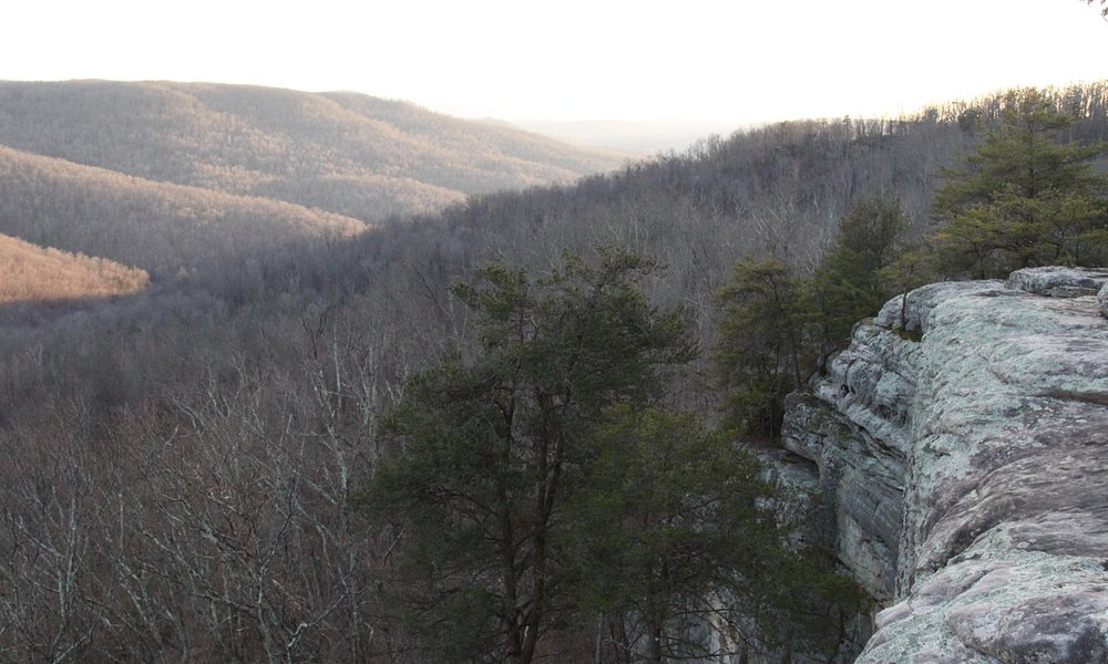 Southern view of the valley and of Bee Rock