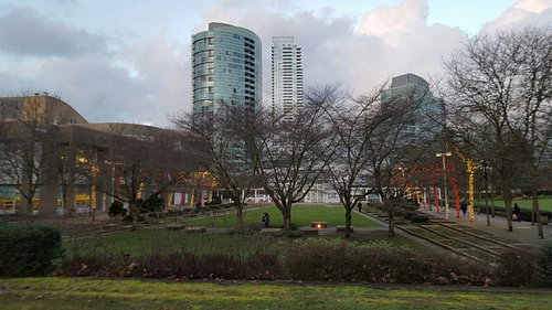 CIVIC  SQUARE around Burnaby Public Library