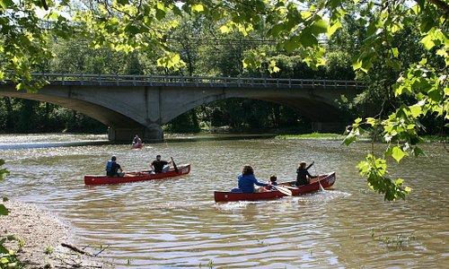 Kayak or canoe down the Big Darby Creek River.