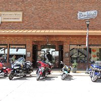 A definite stop for bikers and tourists alike...
