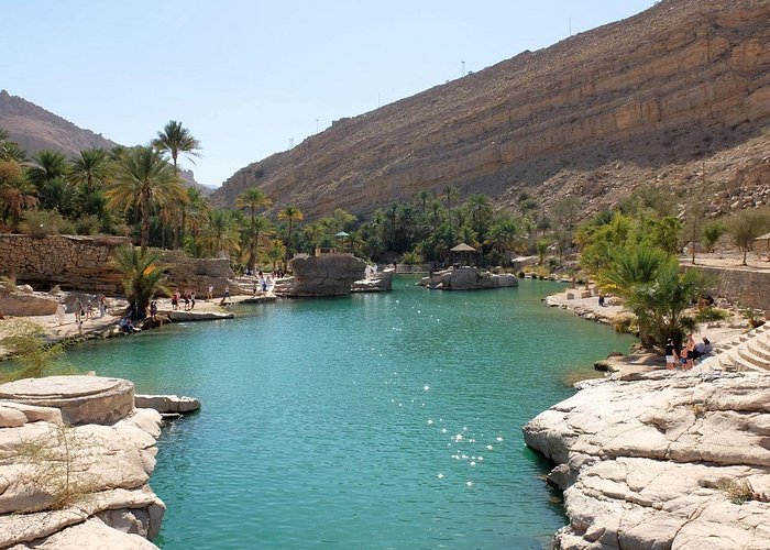 Wadi Bani Khalid_primo laghetto
