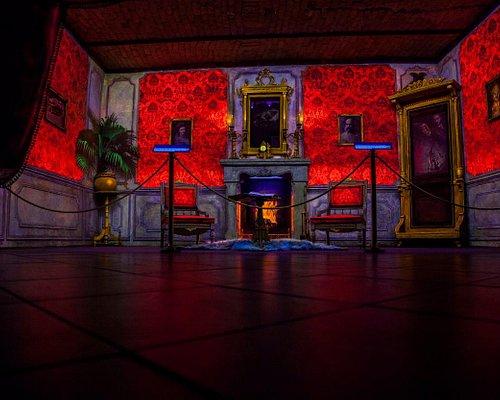 Secret Room in UV light
