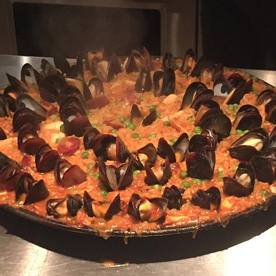 Seafood Paella made by us