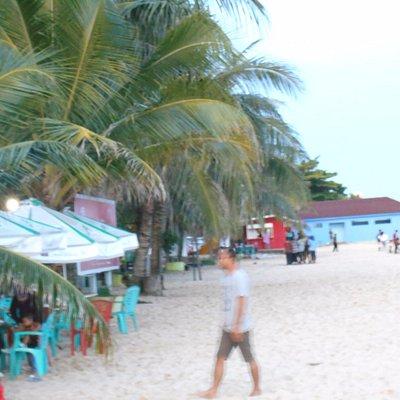 The Melawai beach