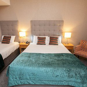 The Twin Room at the Hotel Isaacs Cork