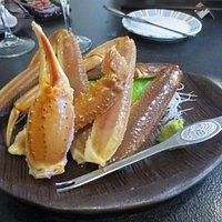ずわい蟹の刺身