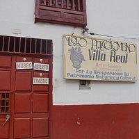 Entrada Museo Precolombino Villa Real