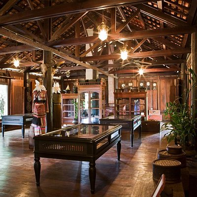Lao Textile Museum,Vientiane