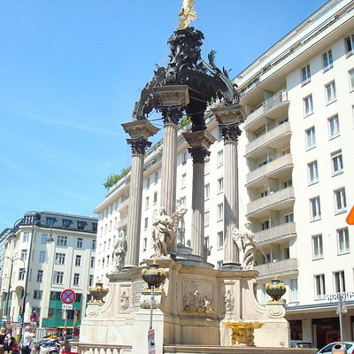 Sctional view of the Fountain