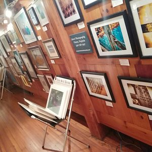 Gallery By the James features all original art & prints from local artists.