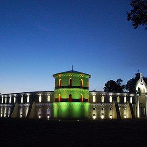 Palace at night