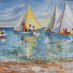 Susan Mains, Work boat regatta