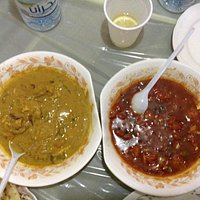 In Batha District, this restaurant has a very friendly staff, serves great food (garlic shrimp)