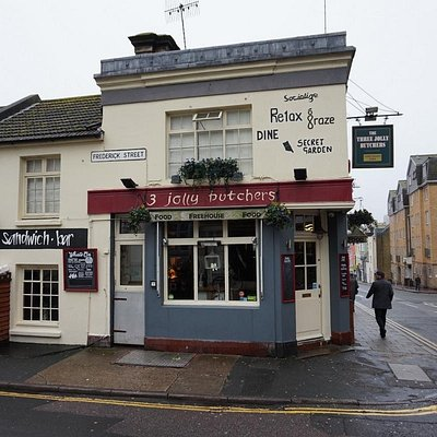 3 Jolly Butchers on North Street, Brighton