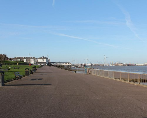 The front at Gravesend, before it gets Industrial !