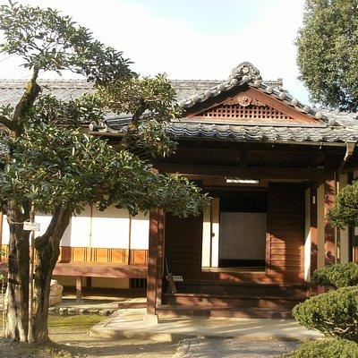 中江藤樹屋敷跡玄関