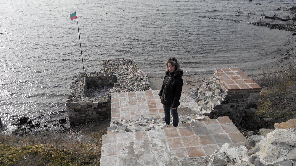 Остатки крепости Акра