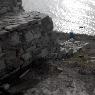Стены крепости Акра