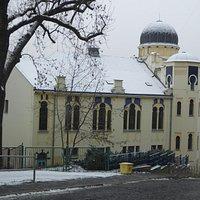 Внешний вид синагоги
