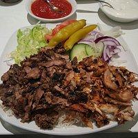 Mixed shawarma!