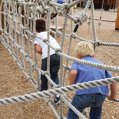 ropes course playground