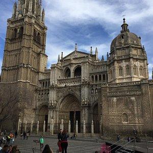 Toledon katedraali.