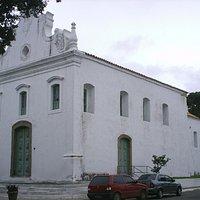 Igreja de Nossa Senhora do Rosário, localizada ma Prainha, em Vila Velha-ES.