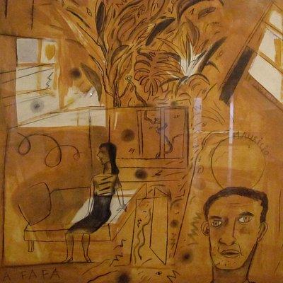 """Exposición """"las casas""""en Museo Caraffa"""