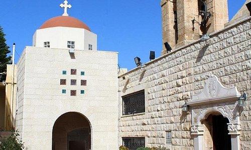 The Greek Orthodox church in Ibillin
