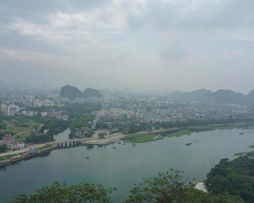 山頂から璃江
