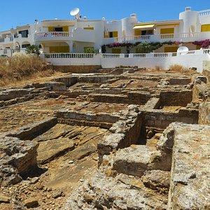 Grundmauern einer römischen Villa, nicht begehbar