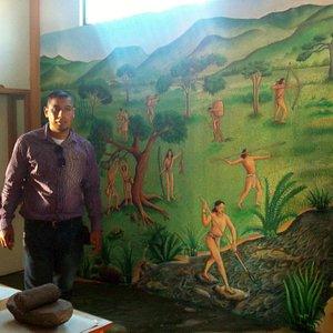Una de las pinturas significativas que hay en el museo