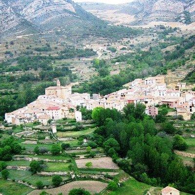 Vista general de Pitarque.