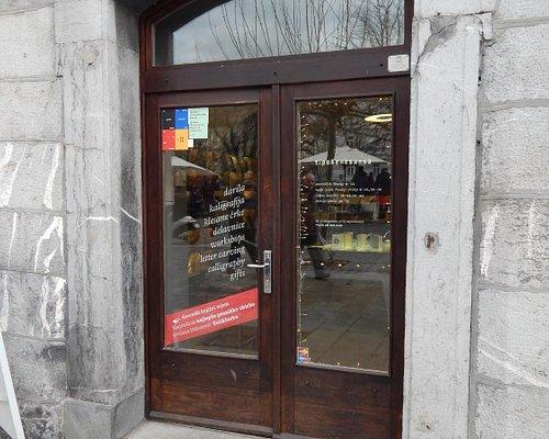 Ljubljana, Tiporenesansa, entrance