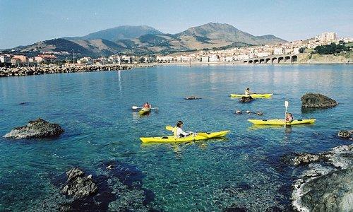Kayak à Banyuls sur mer