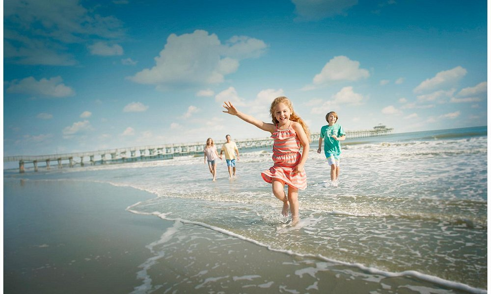 North Myrtle Beach features 9 miles of the widest (and quiestest) beaches along the Grand Strand