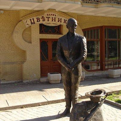 Памятник Кисе Воробьянинову в Пятигорске
