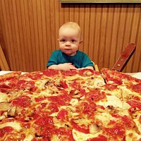 Even our grandson is excited to eat here weekly...