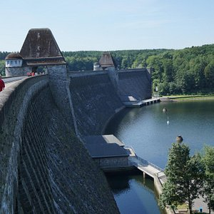 View on the Staumauer