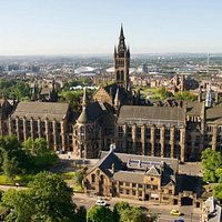 Overview of University of Glasgow's main building