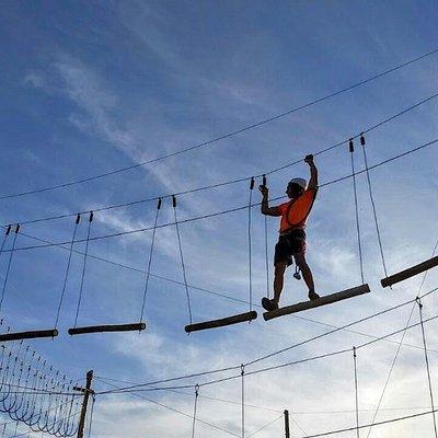 Adultos o chicos, cada uno tiene que vencer su reto y su desafio
