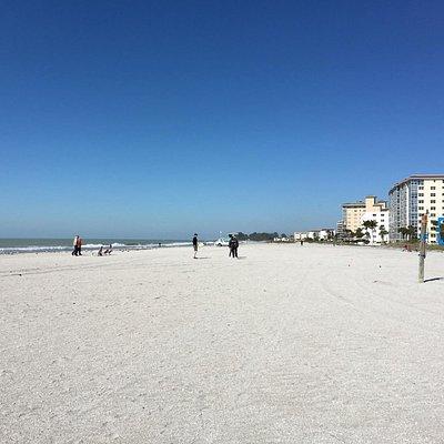 Playas extensas