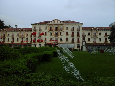 Vista do Palace Hotel